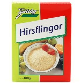 Hirsflingor 400g Zwicky