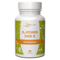 D3-vitamin 2500 IE (med magnesium) 90 tab - Alpha plus
