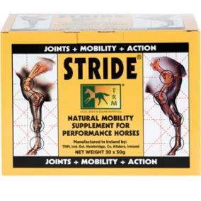 """Stride - Hjälper hästar under hård träning att """"smörja"""" lederna och ta till sig den hårda träningen med bättre resultat och mindre skador"""
