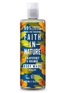 Grapefrukt & Apelsin Duschgel 400ml - Faith in Nature
