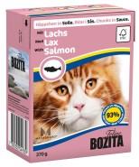 Bozita - Bitar i Sås med Lax 370g