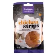 Chicken strips - gott till katten