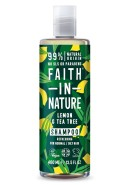 Citron & Tea Tree Schampo mot mjäll 400ml - Faith in Nature