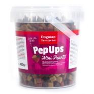 Pep Ups Mini Hearts Kyckling & Vilt - hundgodis