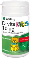 D-vita Ledin 10µg KIDS 90 tuggtabletter