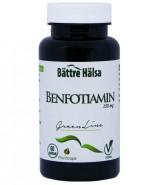 Benfotiamin 150 mg - Bättre hälsa