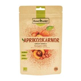 Aprikoskärnor bitter EKO 10x150g (hel kartong)