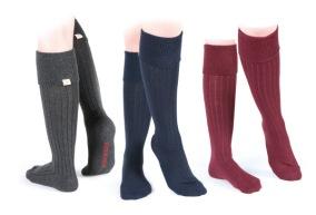 Knästrumpa bomull/ull - Cottonwood Boot Socks