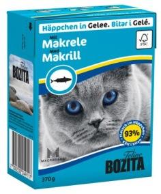 Bozita Katt - Bitar i Gele med Makrill