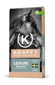 KRAFFT Leisure Pellets, 20 kg - Skickas ej, endast avhämtning