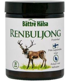 Renbuljong - Frystorkad