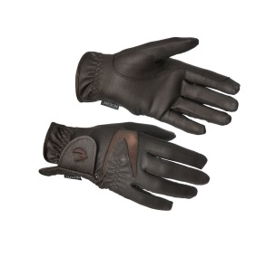Montreal Riding Gloves - Mörkbrun
