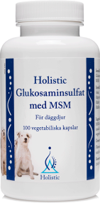 Glukosaminsulfat med MSM 100 kapslar - Holistic
