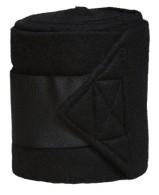 Fleecebandage 4-pack Svart - Jacson Equestrian