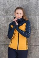 Stella funktionsjacka Mustard/Navy
