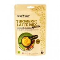 Gurkmeja Latte Mix Kardemumma 125g EKO - Rawpowder