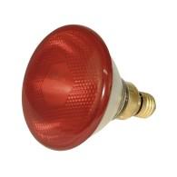 Infraröd lågenergilampa 100 watt, infraglödlampa, energisparlampa, värmelampa, röd