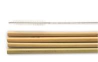 Sugrör Bambu (4st + rensare)