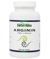 Arginin - Bättre Hälsa