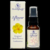 Dr Bach 5 Flower Remedy Spray, 20 ml - Räddningsdroppar