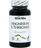 Magnesium L-threonat Green Line 90 kapslar