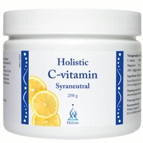 C-vitamin Syraneutral – Holistic