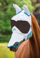 Shires Ultra Pro Fly Mask - Flughuva för solkänsliga