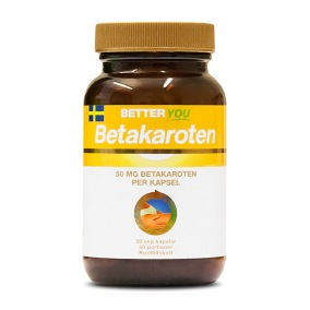 Betakaroten 50mg 50k veg - Better You