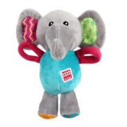 Plush Friendz Elefant - Hundleksak för små hundar