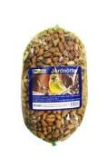 Jordnötter i nät, 480g (till fåglar)