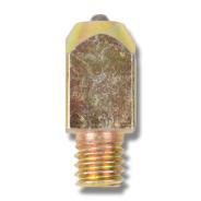 Gräsbrodd guldfärgad 20mm 3/8 10-pack