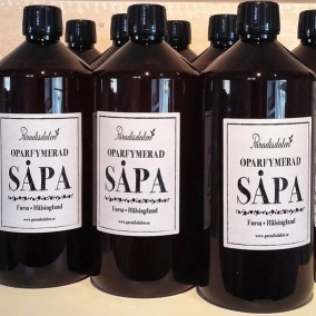 Hälsingesåpa Oparfymerad såpa 1 liter - Paradisdalens
