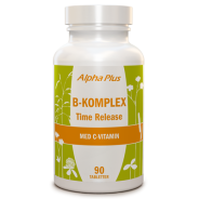 B-komplex Time Release 90 tab - Alpha Plus