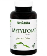 Metylfolat Green Line, 100 kapslar