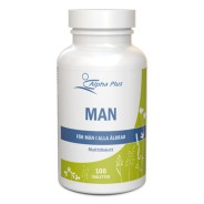 Man 100 tab – Multivitamin/-mineral - Alpha Plus