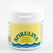 Spirulina 200 tabletter