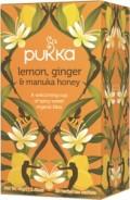 Pukka te – Lemon, Ginger & Manuka