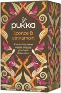 Pukka te – Licorice & Cinnamon