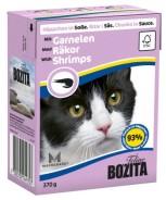 Bozita katt - Bitar i Sås med Räkor