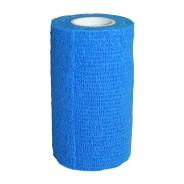 Elastiskt självhäftande bandage 12 st Blå