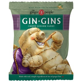Gin Gins Original Chewy Ginger Candy 150g