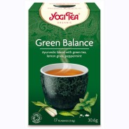 Yogi Tea – Green Balance Te 17p KRAV EKO