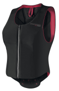 NYHET! - Komperdell Ballistic Flex Fit Woman Level 2 - Svart/Corall