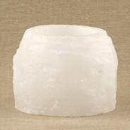 Saltsten värmelykta vit 400g