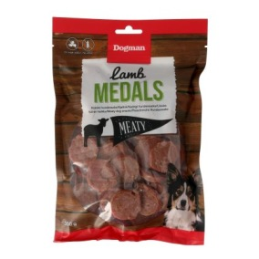 Lamb Medals hundgodis - Dogman