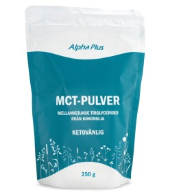 MCT pulver 250g - Alpha Plus