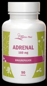 Adrenal 160 mg 90 kap - Alpha Plus