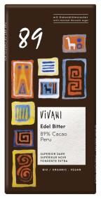 Choklad Mörk Peruansk Kakao 89% - Vivani