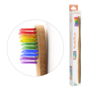 Tandborste bambu Vuxen Mjuk - Proud
