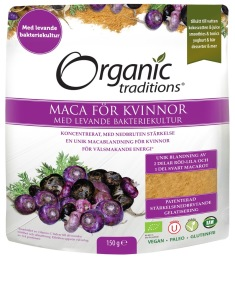 Maca för kvinnor 150g - Organic Traditions